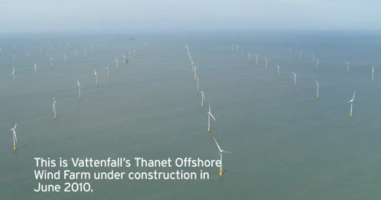 Вітрова електростанція Thanet