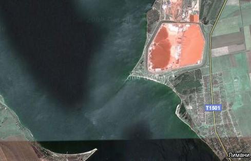 Резервуар для збереження відходів (шламу) Миколаївського глиноземного заводу