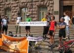 """Результат """"Велонаїзду"""": Олександр Попов пообіцяв киянам 4 велодоріжки"""