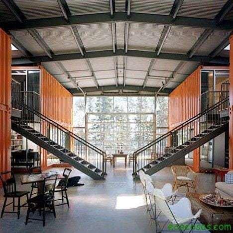 12con01 Casas con contenedores baratas y ecológicas