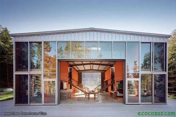 12con02 Casas con contenedores baratas y ecológicas