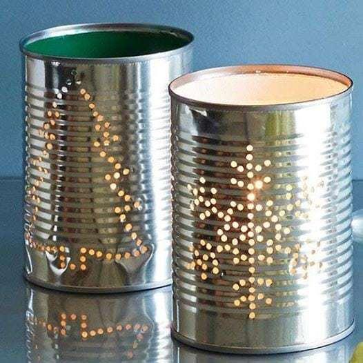 10593104 685911178201836 5104608001137370934 n Porta velas con latas de conservas