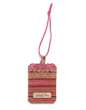 Fair Trade luggage tag