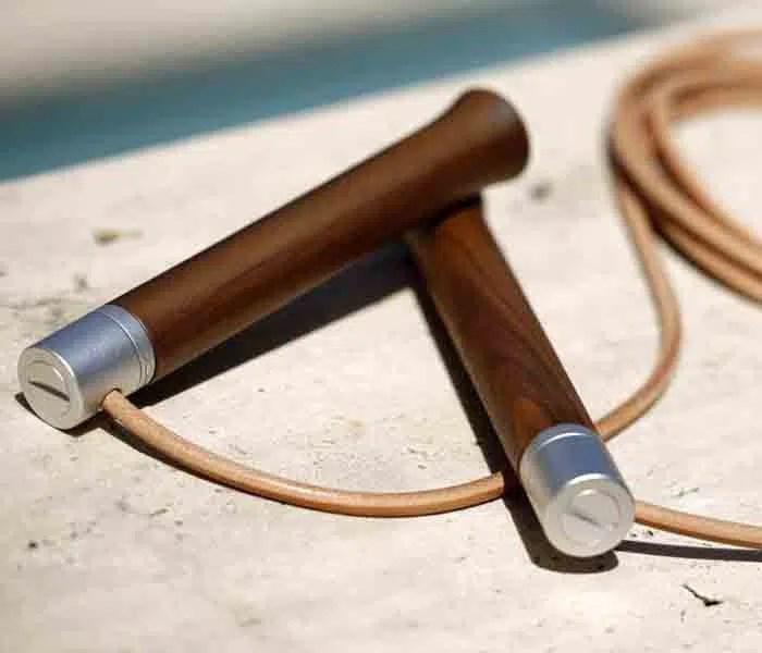 Sustainable luxury jump rope