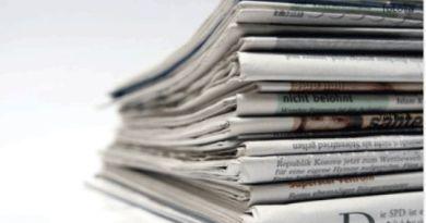 Rassegna stampa del 13 ottobre