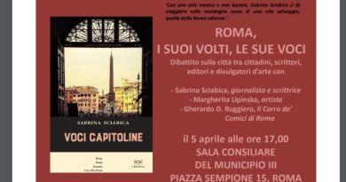 """A Roma le """"Voci capitoline"""" con Sciabica e Lipinska"""