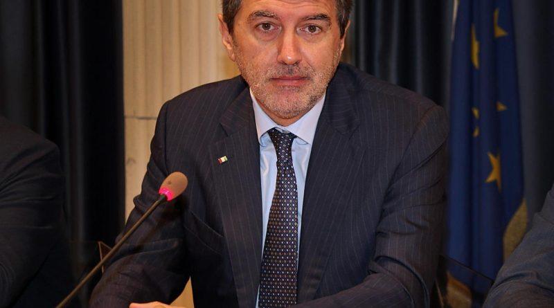 In foto Marco Marsilio, governatore della Regione Abruzzo