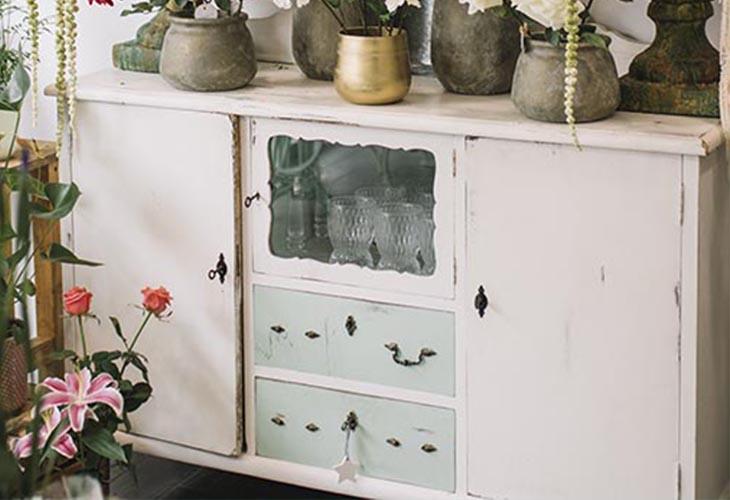 armoire vintage chiné