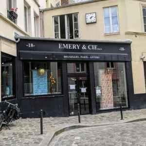 Boutique Emery and co Paris