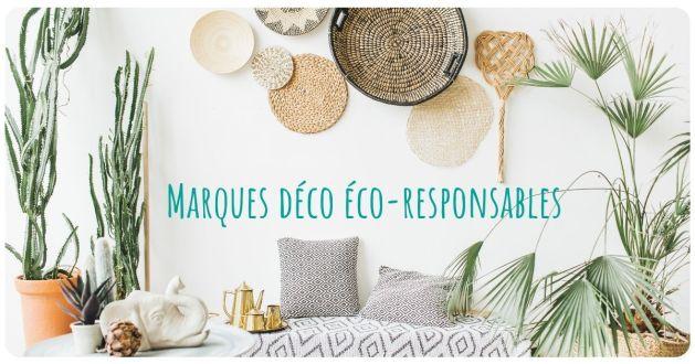 marques décoration éco-responsables