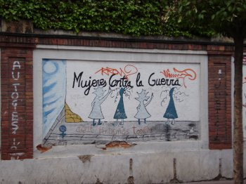 Graffiti de una calle de Valladolid./N.G.M.