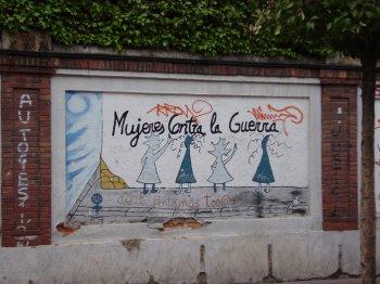 Graffiti de la calle Veladores de Valladolid./N.G.M.