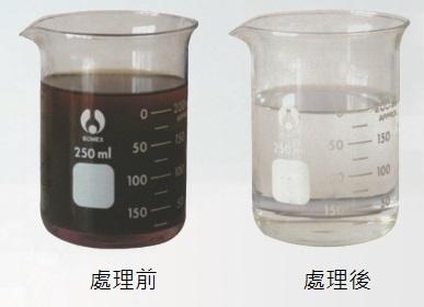 溶劑回收機回收溶劑前後狀況