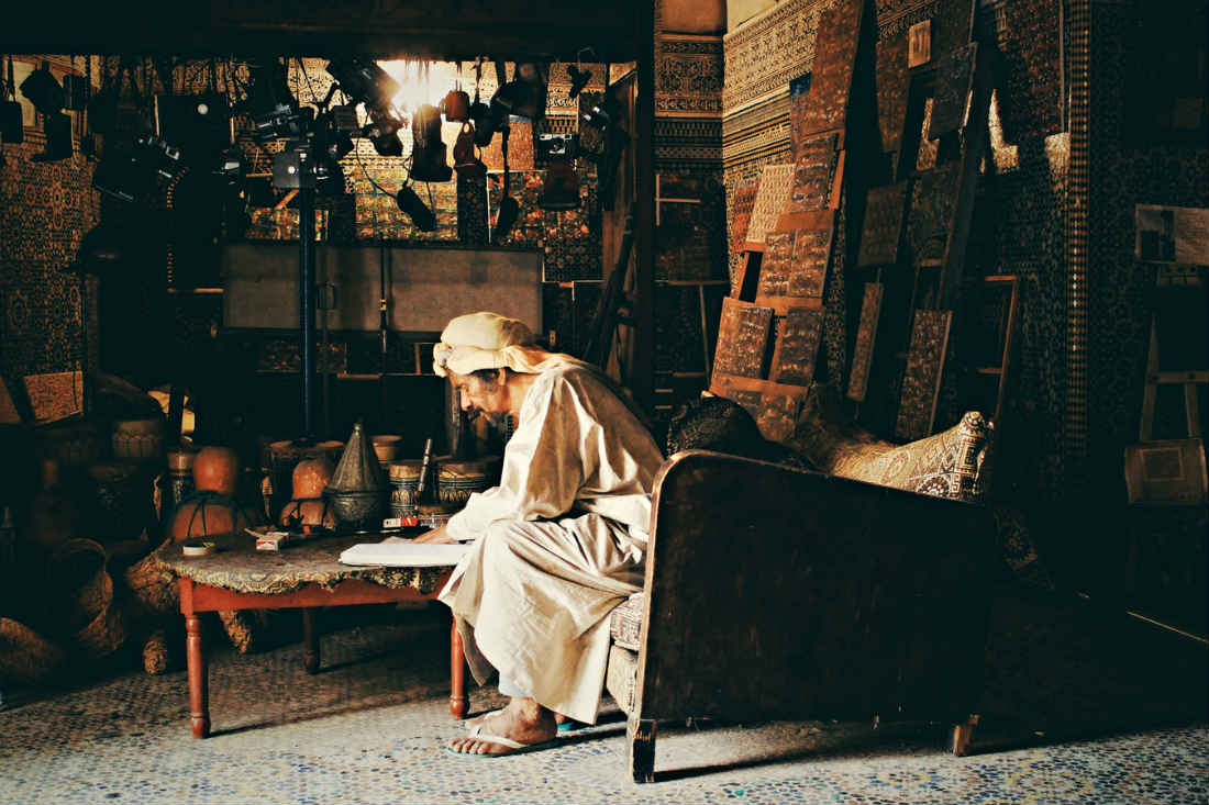 Morocco craftsmanship hard working artisans