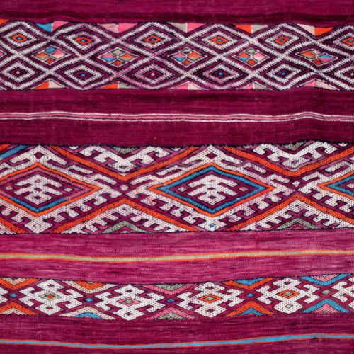 Artisans in Morocco Moroccan Vintage Berber rug