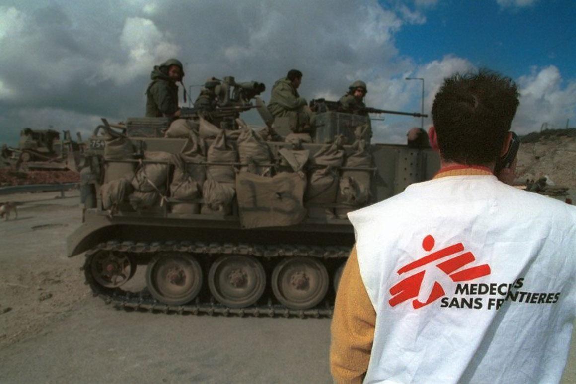 Doctors Without Borders in war zones