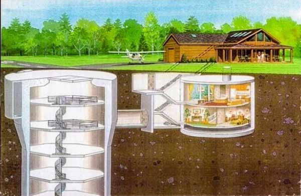 план бункера