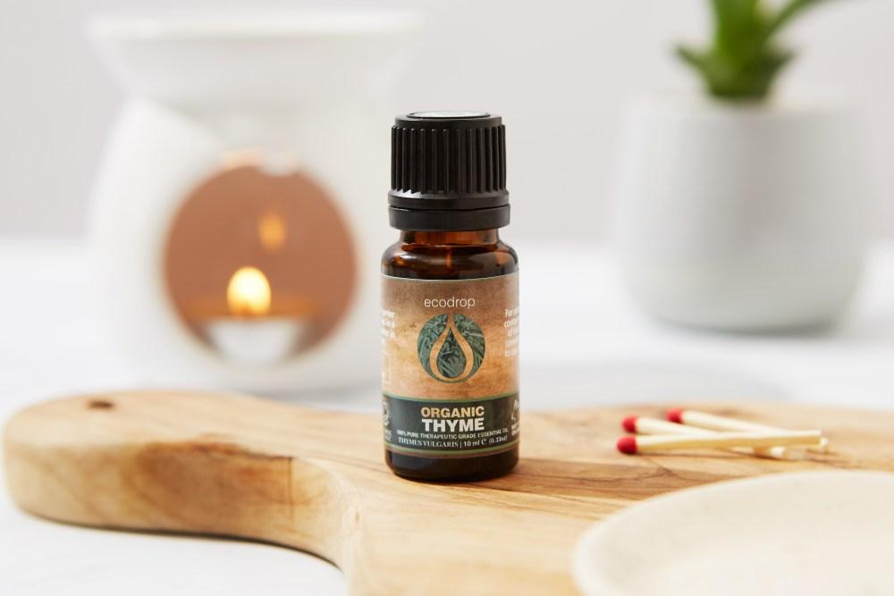 organic ecodrop thyme essential oil
