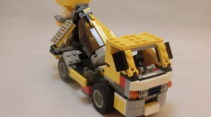 ミキサー車