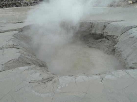 トカラ列島中之島の御岳火口
