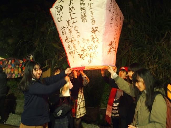台湾の天燈で有名な平渓にて