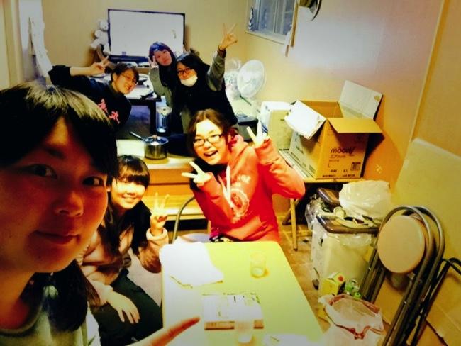 村おこしボランティア【宝島コース】に参加した学生ボランティア
