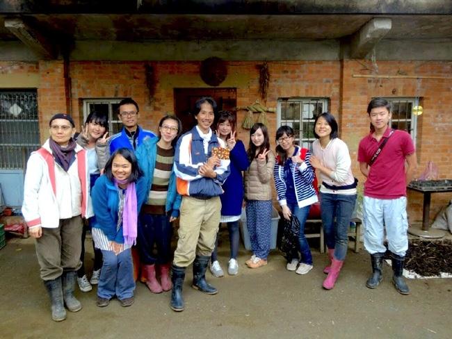 村おこしボランティア【台湾 淡水コース】でお世話になった仲間たちと