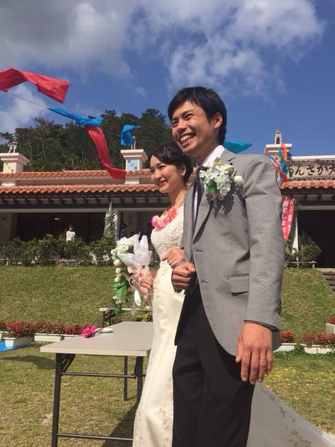 感動的な結婚式!