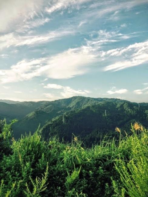 北谷の風景