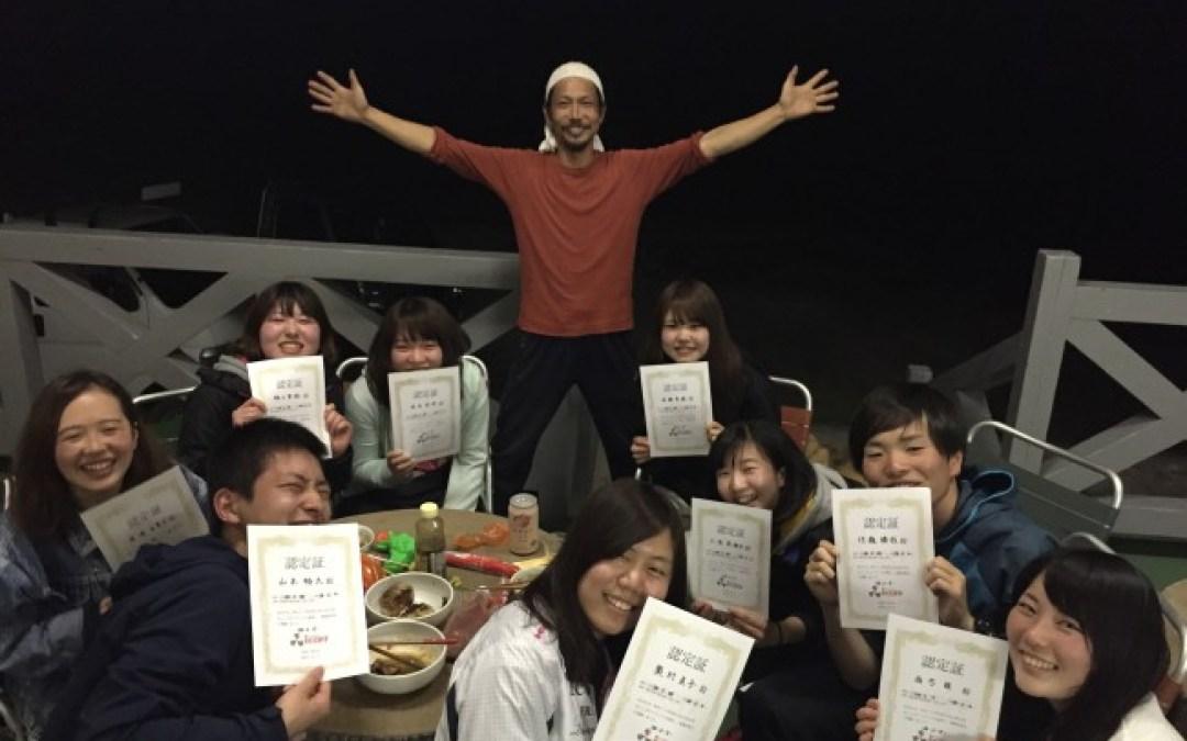 ついに宝島最終日! 夜はBBQで盛り上がりました!