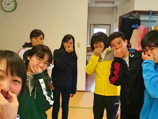 村おこしボランティア薩摩黒島コースの参加者