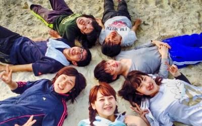 宝島に到着! さっそく海岸清掃!