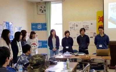沖島で関西報告会を開催しました!