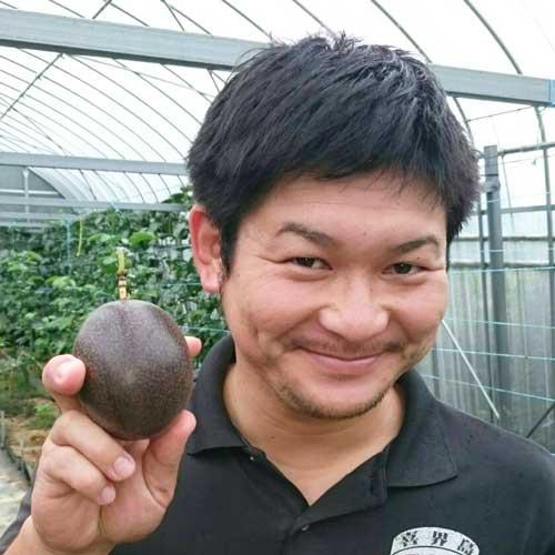 喜界島世話人の園田裕一郎さん