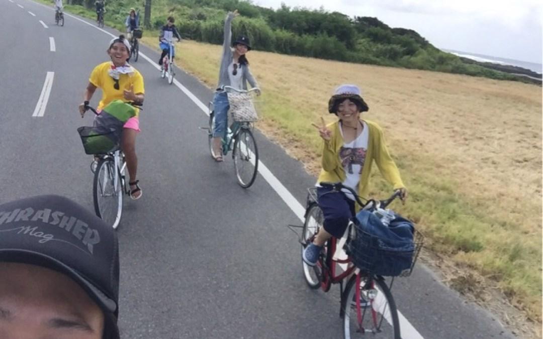 サイクリングで喜界島を満喫