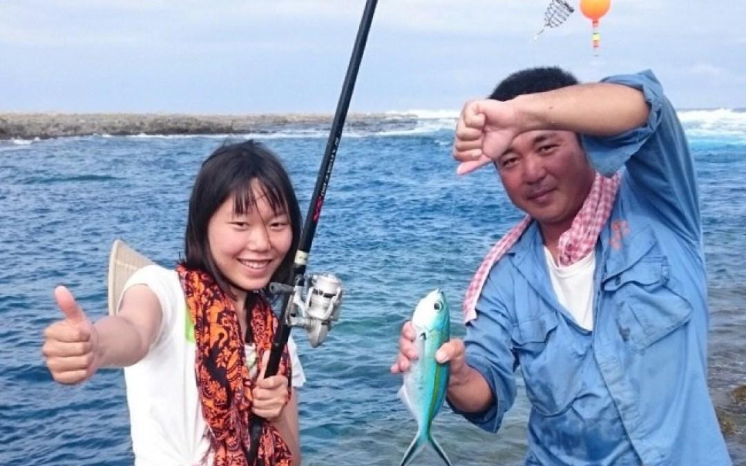 喜界島で、リアル釣りバカ日誌?