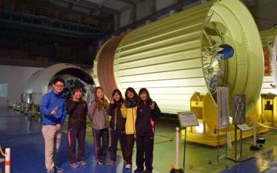 宇宙センターで本物のロケットを見学!