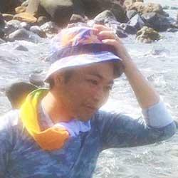 村おこしボランティア【中之島コース】世話人の埜口さん