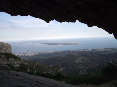 La Punta de la Banya desde La Foradada