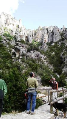 La inolvidable fachada pétrea del Racó dels Capelláns
