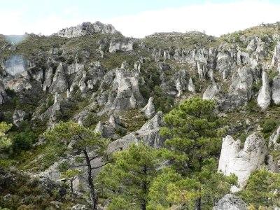 La erosión en las rocas