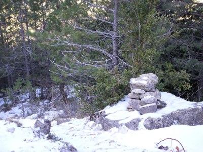 hito de piedras-atajo al PRC 95