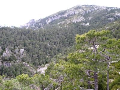 barranc de la Conca y Mont Caro