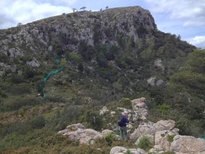 Corral de Pedra y Serra de Cardó