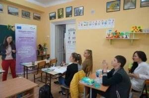 Tinerii din Anenii Noi instruiți de Lilia Curchi