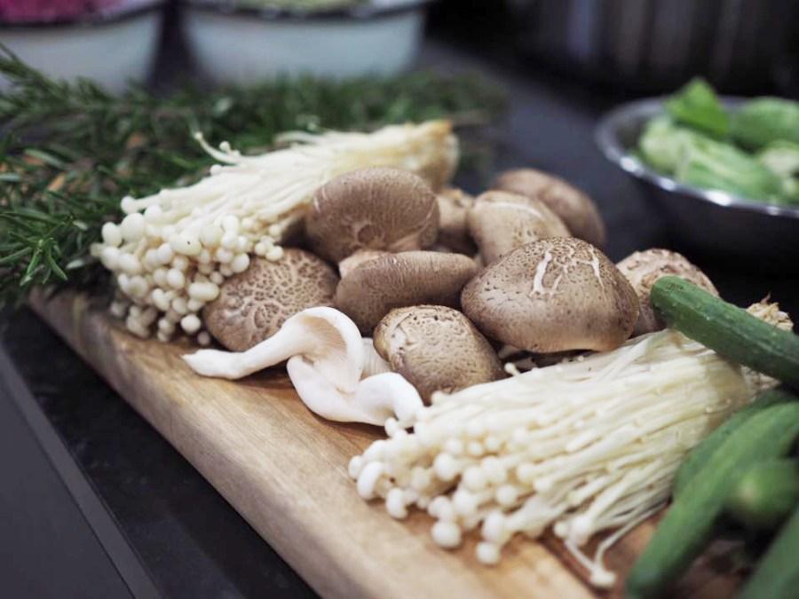 Samantha Gowing Buckwheat, mushrooms & wakame