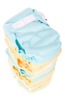 Stack of reusable swim diapers