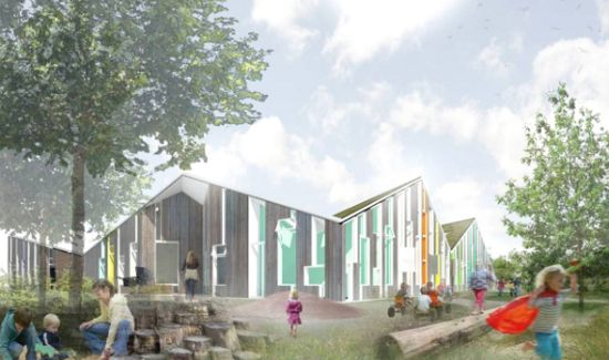 Eco Architecture Denmarks Greenest Childcare Center Will