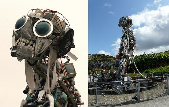 Most Amazing Recycled Creations From Electronic Waste