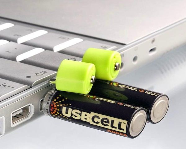 USB cell batteries 1